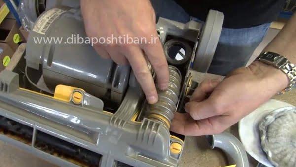 آموزش عیب یابی خرابی موتور و کم شدن مکش جاروبرقی ال جی