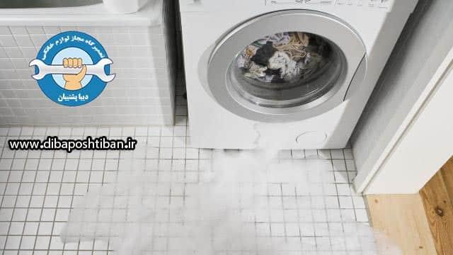 دلایل آبریزی یا نشت آب در ماشین لباسشویی و چگونگی رفع ایراد آن