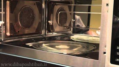 علت نچرخیدن سینی کف مایکروفر