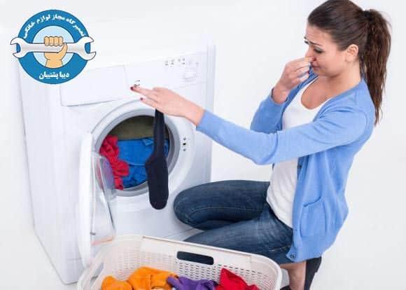 علت بوی سوختگی ماشین لباسشویی و آموزش تعمیر و رفع ایراد
