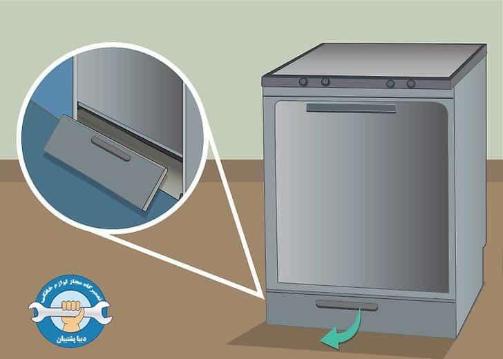 دلایل نشت آب در ماشین ظرفشویی
