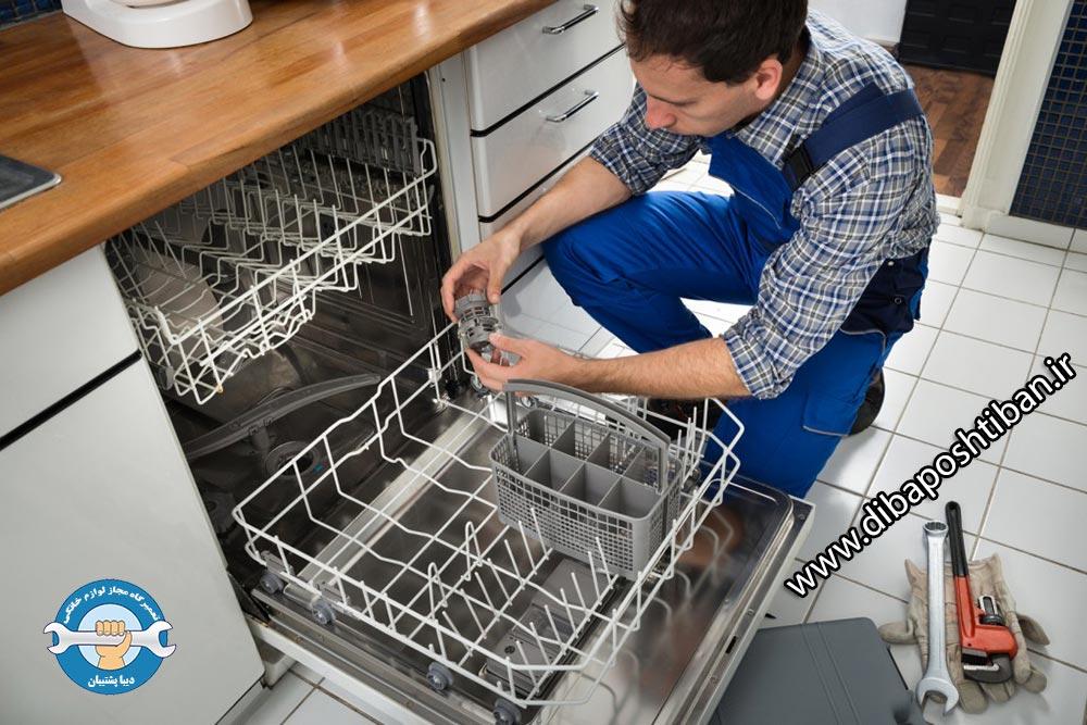 علت وارد نشدن آب به داخل ماشین ظرفشویی و آموزش رفع ایراد