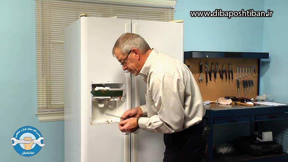 علت فشار کم آب در یخچال