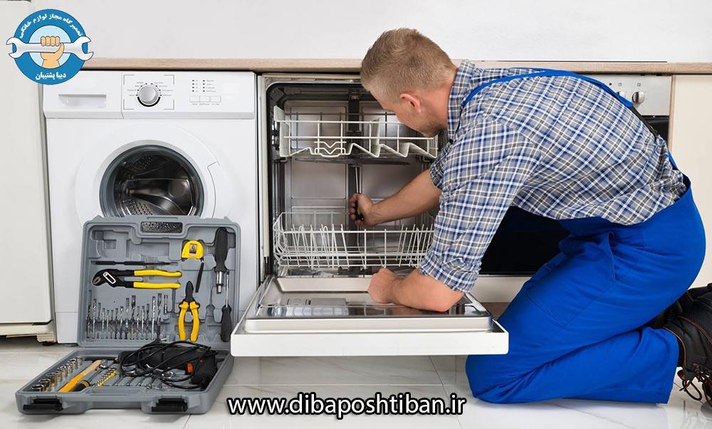 علتهای ماندن کف در ماشین ظرفشویی و راهکارهایی برای رفع آن
