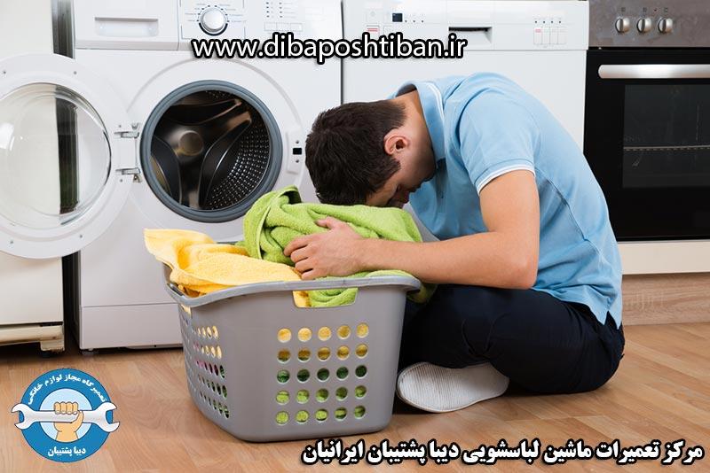 علت حل نشدن و باقی ماندن پودر در جا پودری ماشین لباسشویی
