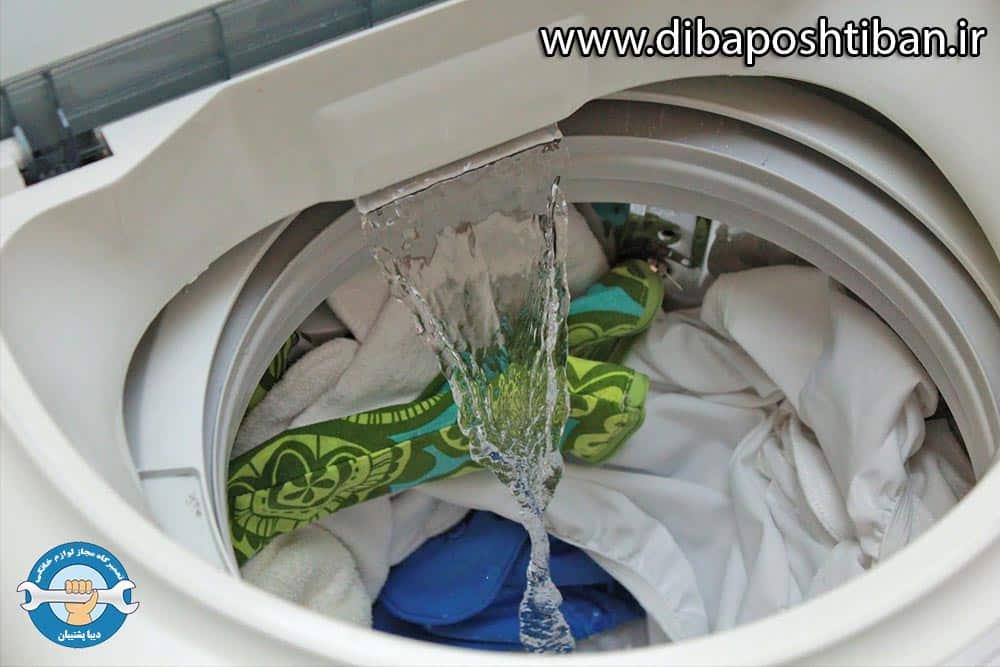 علت قطع نشدن آبگیری ماشین لباسشویی