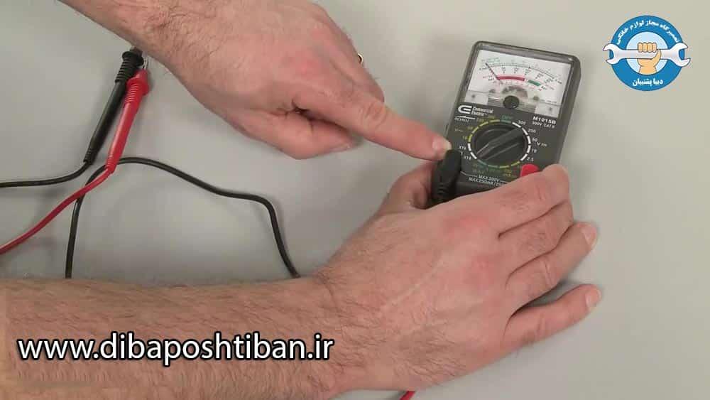 چگونه سنسور دما یخچال را تست کنیم