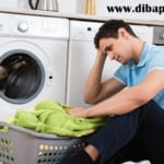 علت خاموش شدن ماشین لباسشویی ال جی در حین کار