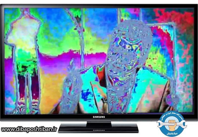 علت قاطی شدن و بهم ریختگی رنگ در تلویزیون LED