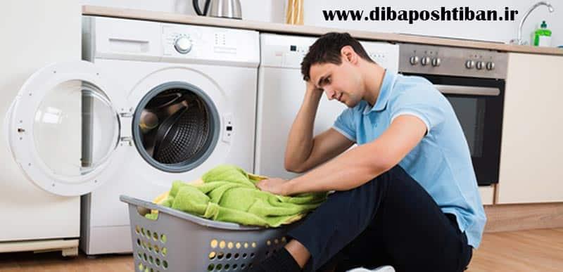 علت کار نکردن خشک کن ماشین لباسشویی