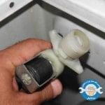 آموزش تعویض شیر برقی ماشین لباسشویی ال جی