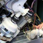 چگونگی تعویض موتور ماشین ظرفشویی