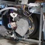 علائم سوختن موتور ماشین ظرفشویی