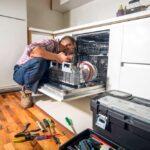 علت تخلیه نکردن آب در ماشین ظرفشویی