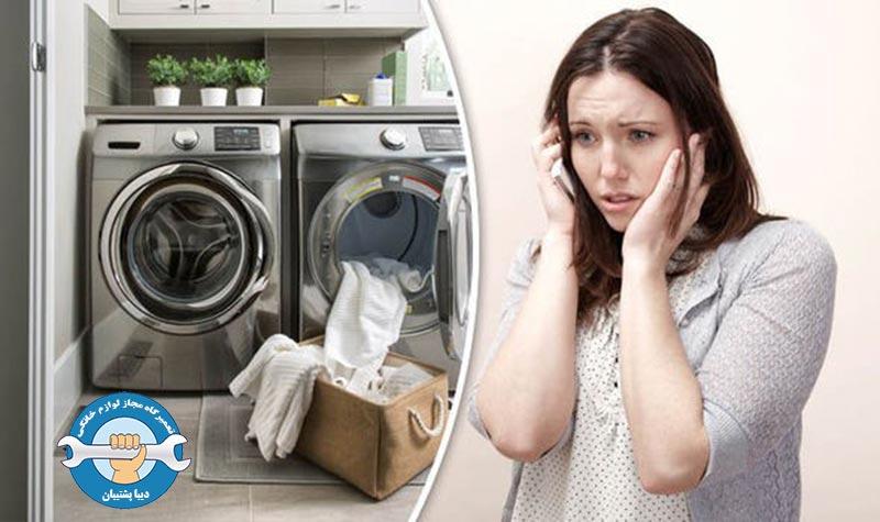 سوختن موتور ماشین لباسشویی به دلیل لرزش زیاد