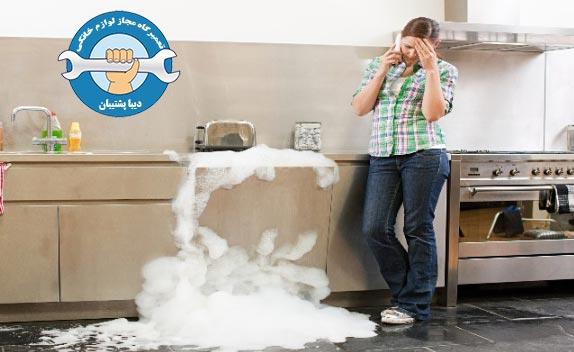 نحوه تمیز کردن کف باقی مانده در ماشین ظرفشویی