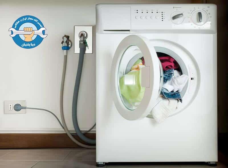 تست ماشین لباسشویی بعد از نصب آن