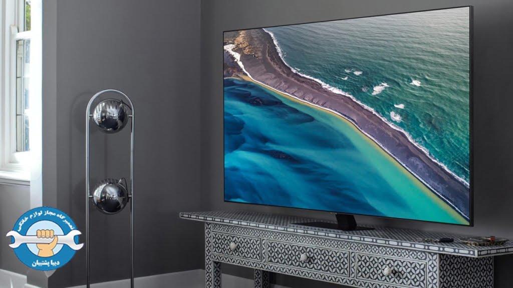 علت آبی شدن صفحه تلویزیون الایدی