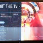 خطوط افقی روی تلویزیون ال ای دی
