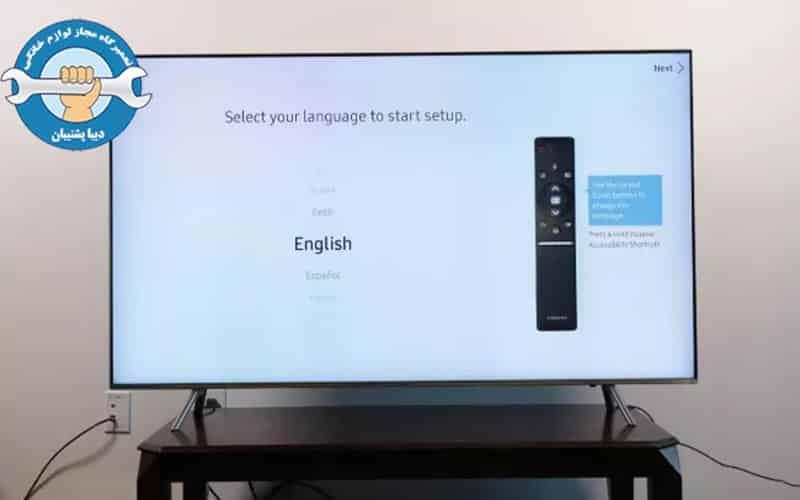 کانالیابی در تلویزیونها LED سامسونگ