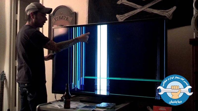 دلایل ایجاد سایه و تاریکی تصویر تلویزیون LED