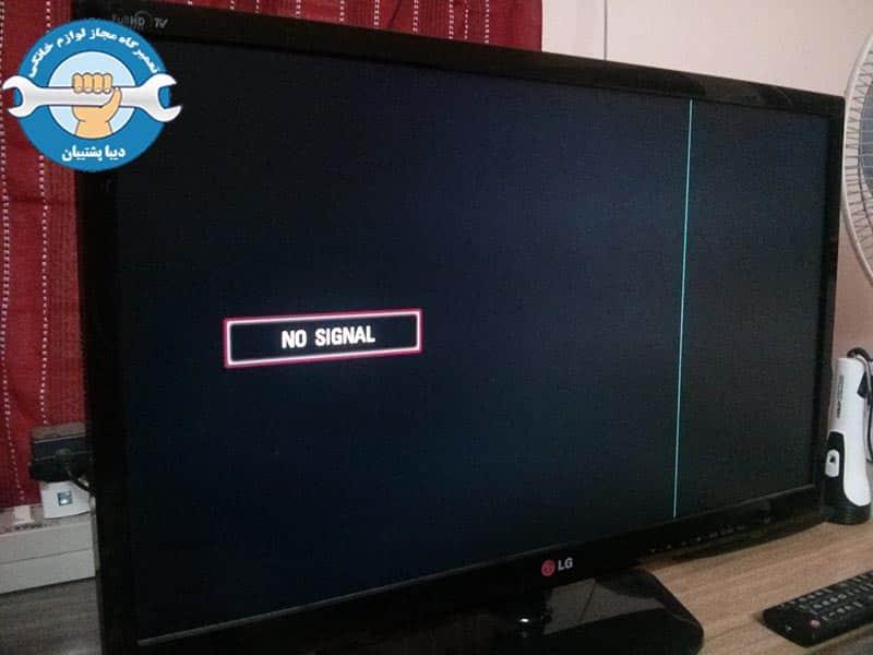 دلایل به وجود آمدن خطوط عمودی روی صفحه تلویزیون LED