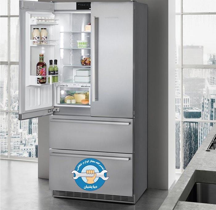 فروش درب بار یخچال ساید بای ساید در تمامی برند ها