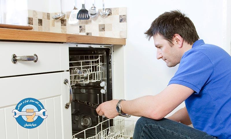 دلایل خاموش شدن ماشین ظرفشویی در حین کار