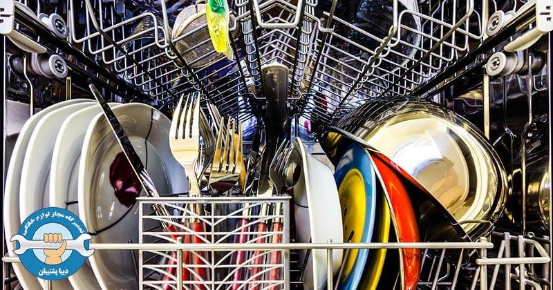 علل سوختن برد الکتریکی ماشین ظرفشویی