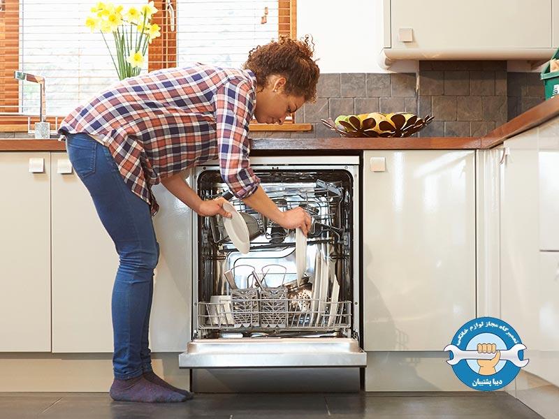 نحوه ی کارکرد ماشین ظرفشویی
