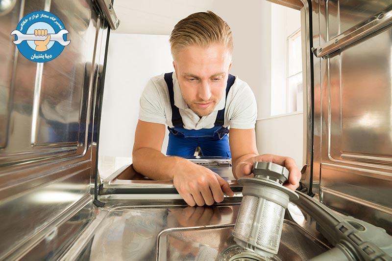 نکات تعمیر خاموش نشدن ماشین ظرفشویی