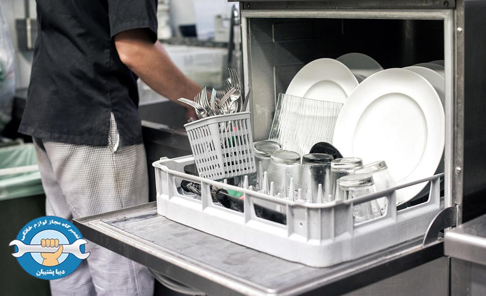 علت خاموش نشدن ماشین ظرفشویی