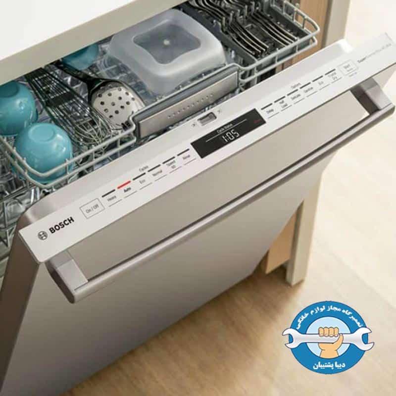 دلایل خاموش نشدن ماشین ظرفشویی