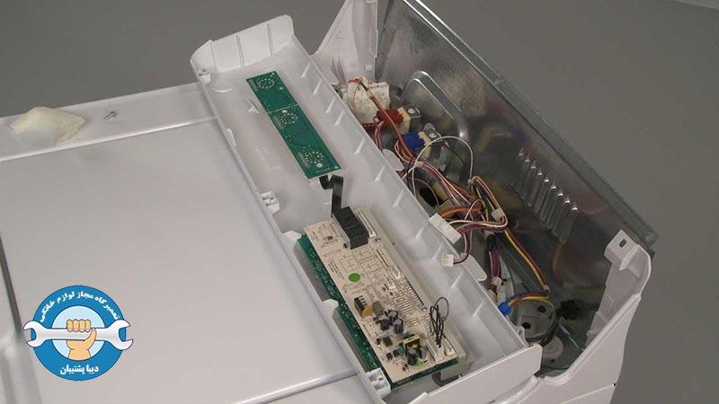 علت سوختن برد الکتریکی ماشین لباسشویی