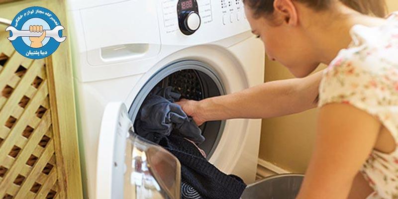 علل خاموش نشدن ماشین لباسشویی